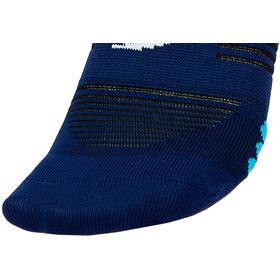 Compressport Calze A Compressione Media, blu/turchese